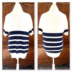 J. Crew Factory Striped Lightweight Sweater